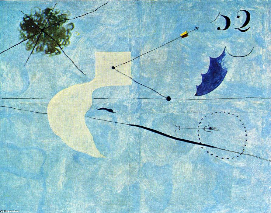 famous painting Siesta of Joan Miro