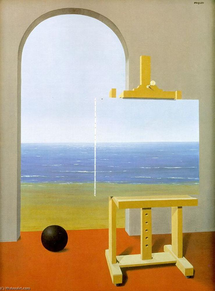 | a condição humana por Rene Magritte | Most-Famous-Paintings.com