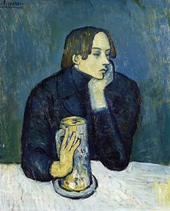 | Sabartes por Pablo Picasso | Most-Famous-Paintings.com