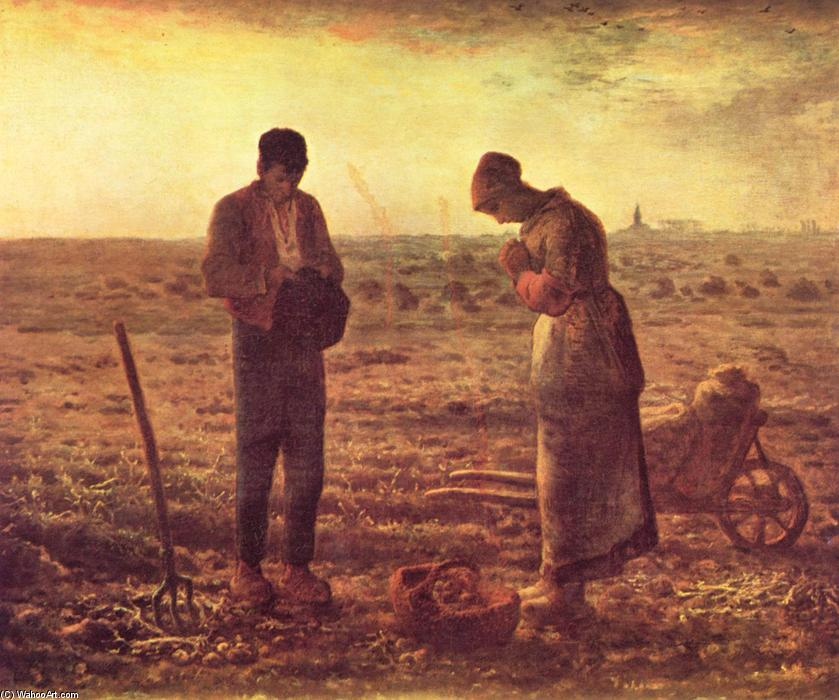 famous painting O Angelus of Jean-François Millet