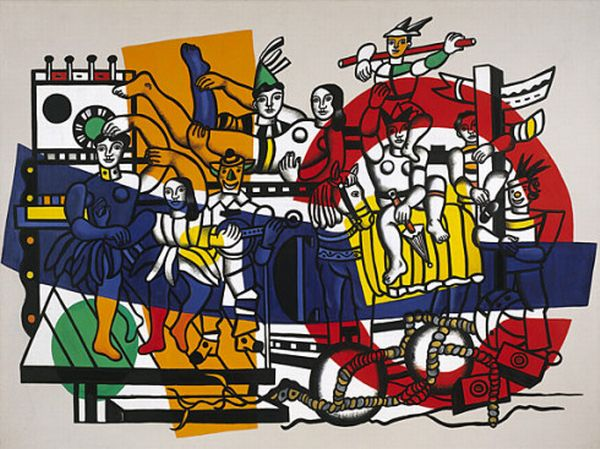 famous painting o grande desfile of Fernand Leger