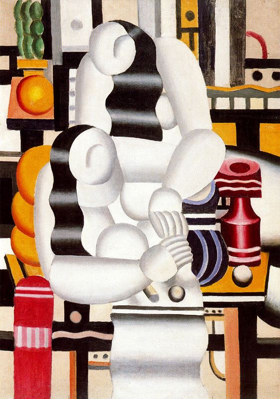 famous painting o almoço of Fernand Leger