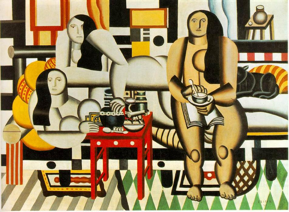 famous painting três mulheres of Fernand Leger