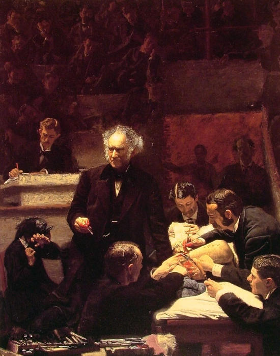 famous painting the gross clinic of Thomas Eakins
