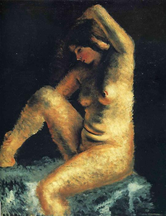 famous painting o bonito modelo of André Derain