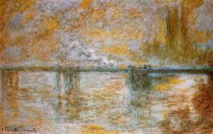 Claude Monet - Charing Cross Ponte 1