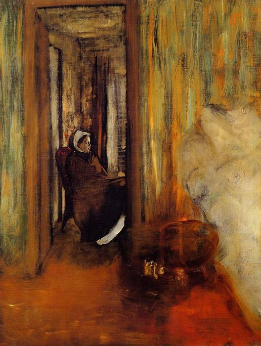 famous painting cuidar of Edgar Degas