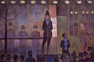 Georges Pierre Seurat - O Sideshowed