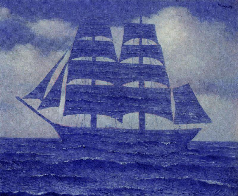 | O sedutor por Rene Magritte | Most-Famous-Paintings.com