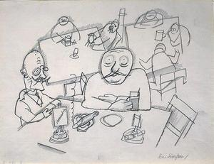 George Grosz - No simsen de