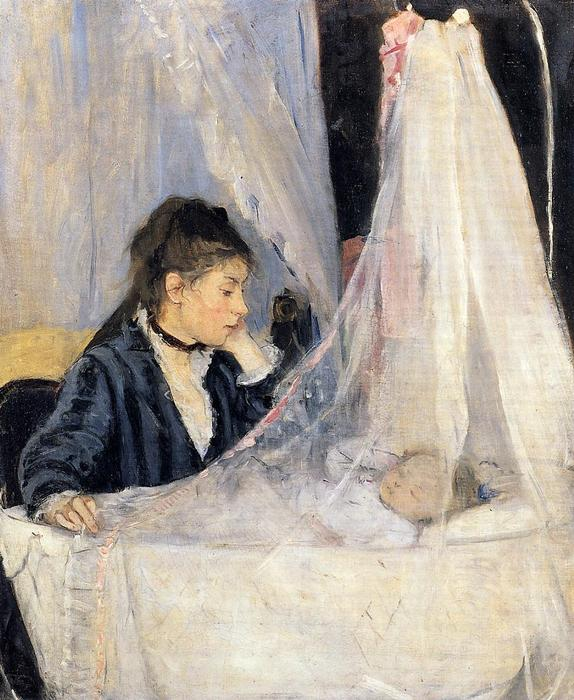 famous painting O Cradle of Berthe Morisot