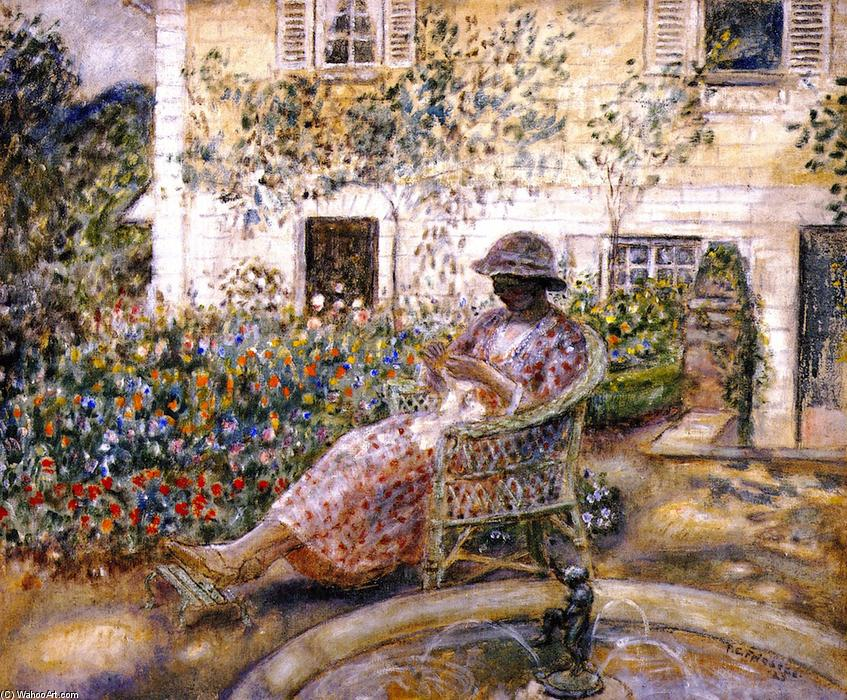 famous painting o fonte of Frederick Carl Frieseke