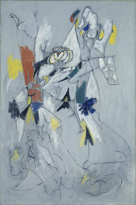 famous painting queda dágua of Arshile Gorky