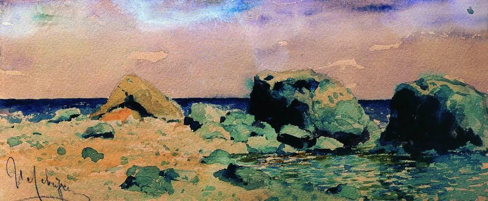 famous painting beira mar com  Mar  vista  of Isaak Ilyich Levitan