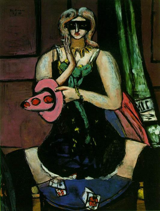| Columbino por Max Beckmann | Most-Famous-Paintings.com