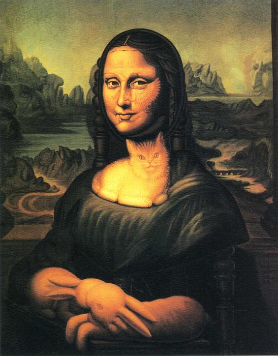 | Cadeira de Mona Lisa por Octavio Ocampo | Most-Famous-Paintings.com