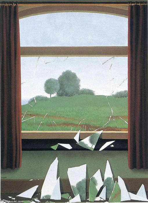 famous painting o chave para  o  Campos  of Rene Magritte