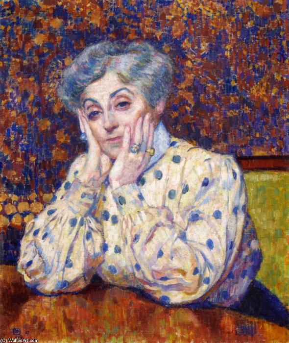 famous painting Madame Theo van Rysselberghe of Theo Van Rysselberghe