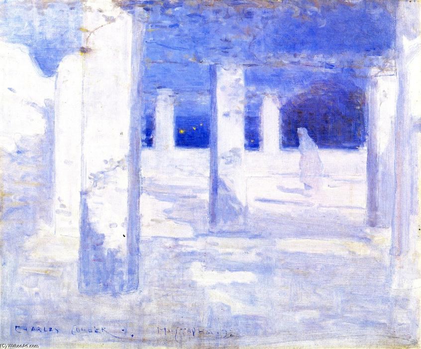 famous painting Luar na Mustapha of Charles Edward Conder