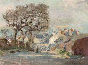 William Stewart Macgeorge - Kirkcudbright A partir de Barrhill