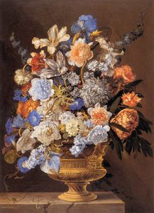 Jacques I Bailly - bouquet de flores