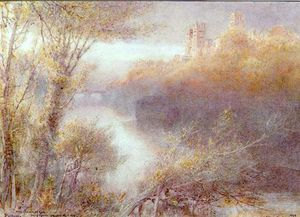 Albert Goodwin - Catedral de Durham