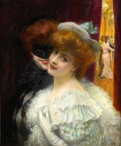 Albert Lynch - le bal Mascarada .