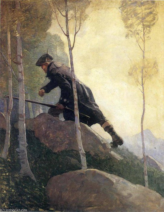 famous painting sem título 8116   of Nc Wyeth