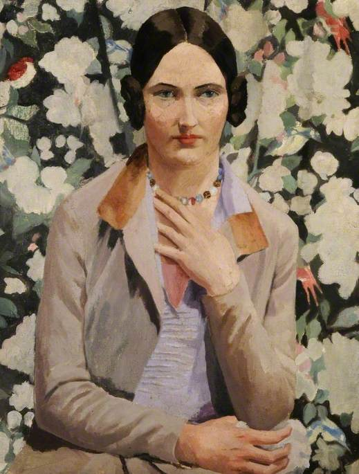 famous painting Kate ( Katherine Adotivo ) ( b . 1904 ) of Richard Carline