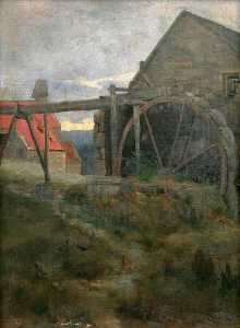James Campbell Noble - Um Watermill