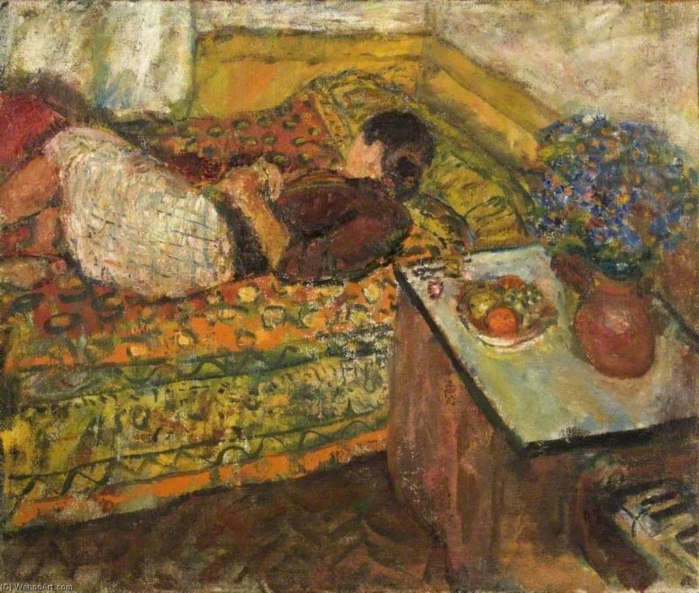 | Siesta por Ruskin Spear | Most-Famous-Paintings.com