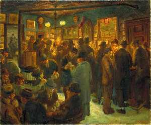 John Sloan - Mc Sorley Saturday Night