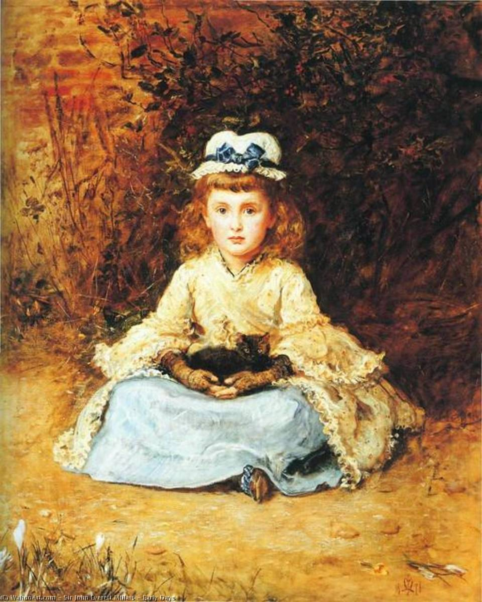 famous painting cedo dias of John Everett Millais